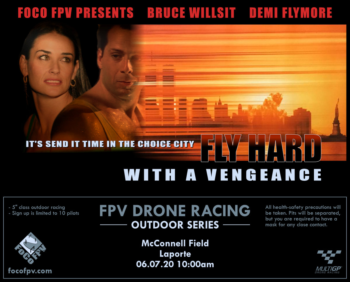 Fly Hard with a Vengeance