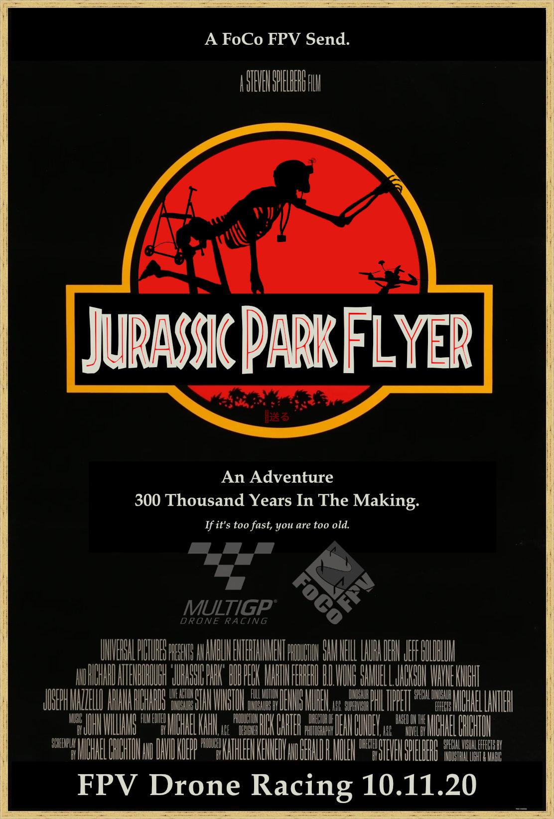 Jurassic Park Flyer